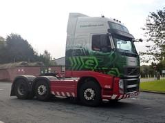 H4576 - PX60 CRV (Cammies Transport Photography) Tags: truck volvo jane lorry trucks eddie ltd carlisle xl kirsty esl globetrotter kingstown stobart eddiestobart fh13 h4576 px60crv