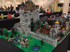 BrickCon 2012 collaborative display (AK_Brickster) Tags: landscape lego siege moc brickcon classiccastle