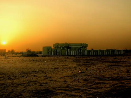 Sundown in the suburbs of Al Fashir