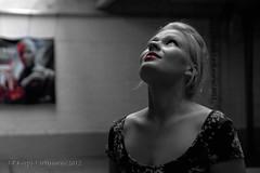 Huomenna hn tulee (JP Korpi-Vartiainen) Tags: woman mill abandoned girl beautiful finland studio model young blonde charming finnish kuopio malli eeva vanha tehdas nainen suomalainen kaunis muoti hyltty nuori pohjoissavo jpko viehttv vaaleatukkainen vaaleahiuksinen tehdashalli