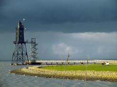 """Leuchtturm """"Obereversand"""" (sirona27) Tags: meer himmel wolken nordsee leuchtturm dorumneufeld leuchtturmobereversand"""