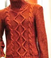 Cables on merino wool (sifis) Tags: colour art wool fashion sweater nikon knitting pattern natural knit craft athens hobby class yarn greece pullover handknitting 2470 sakalak woolshop d700