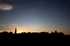 Veszprm sziluett (markus.pacher) Tags: sunset silhouette hungary naplemente veszprm
