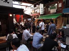 昼の酒場 (がじゅ) Tags: 散歩 上野 酒場 epl2