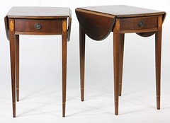 31. Pair of Mahogany Pembroke tables