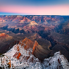 Grand Canyon - Early 2010 (Luke Austin) Tags: winter arizona usa grandcanyon lukeaustin