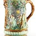167. French Majolica Pitcher