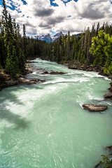 Minty River (Julien//K) Tags: park trees sky canada mountains nature colors forest river landscape outdoors nikon colombia angle wide rapids tokina national british minty 1224mm f4 yoho dx d7100