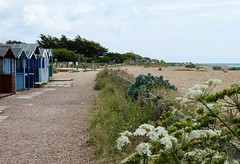 Seashore at Ferring (oh.suzannah) Tags: huts beach shore path seaside