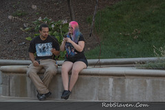 Indianapolis Canal Walk (Rob Slaven.) Tags: boy canal canalwalk colorfulhair couples downtown exercise girl indianapolis people pokemon pokemongo recreation sport urban indiana unitedstates us