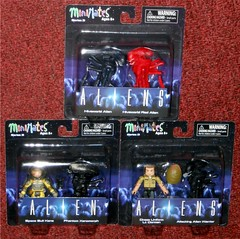 MiniMates - Aliens TRU Wave 3 (Darth Ray) Tags: minimates alienaliens tru wave 3 aliens hiveworld alien red space suit kane phantom xenomorph dress uniform lt gorman attacking warrior toys r us