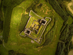 James Fort (Vytenis Malisauskas) Tags: yuneec drone cgo3 ireland ngc above ruins fort