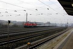 EC 193 am Hirschgarten (ice91prinzeugen) Tags: sbb cff ffs db bahn ec eurocity br 218 diesellok