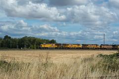 UP 2645 (Tom Trent) Tags: ac44cw et44ac es44ac c45ah ge diesel locomotive unionpacific junctioncity oregon pnwr freight train railroad swain gevo brooklynsubdivision