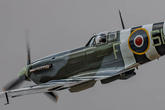 Low Level Spitfire (Lee532) Tags: battle britain memorial flight bbmf supermarine spitfire ab910 fighter plane aircraft aeroplane aviation vintage heritage raf royal air force warbird nikon d500 tamron 150600mm military outdoor airplane vehicle