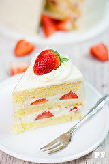 Bolo de Morango e Chantilly (Japanese Strawberry Shortcake) ([Vitor Hugo]) Tags: bolomorango strawberryshortcake sweet comida bolo morango chantilly