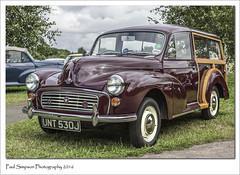 Morris Traveller (Paul Simpson Photography) Tags: morris1000 morristraveller car classiccar vintagecarshow vintagetransport maroon sonya77 august2016 photoof photosof imageof imagesof paulsimpsonphotography bartonuponhumber carshow old british 1970s carsfromthe1970s britishcars