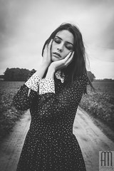 Her World (Andrezza Haddaway) Tags: expression vintage bw portrait fineartphotography