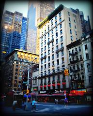 morning new york (LilacPOP) Tags: nyc newyork timesquare moma museumofmodernart guggenheim subway magritte fineart gallery lights city urban bigapple etsy jannacoumoundouros lilacpopstudio lilacpop