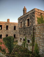 Walls in Tourgis - (neilalderney123) Tags: 2016neilhoward alderney tourgis architecture walls fort victorian