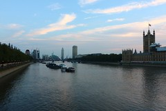 Evening (NovemberAlex) Tags: clouds london cityscape water