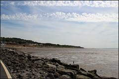 West Kirby Wirral 230816 (12) (Liz Callan) Tags: westkirby wirral sea seaside beach rocks boats ben bordercollie dogs sky water waves buildings lizcallan lizcallanphotography