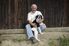 A farmers best friend (Nestl) Tags: biogas farm farming farmer dog countryside renewable energy sustainability owner happy plant environment environmental
