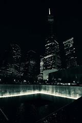 Remembering 9/11... (RALPHKE) Tags: 911 neverforget911 newyork newyorkcity manhattan downtownmanhattan lowermanhattan bigapple nyc wtc 1wtc onewtc reflectingpools september blackwhite canon canoneos750d travel buildings skyscrapers skyscraper highrisebuildings highrise remembering remembering911 15thanniversaryof911 worldtradecenter architecture