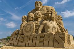 020 - Burgas - Sand Sculptures Festival 2016 - 24.08.16-LR (JrgS13) Tags: bulgarien filmhelden outdoor reisen sand sandscuplturefestivals sandskulpturenfestival urlaub burgas