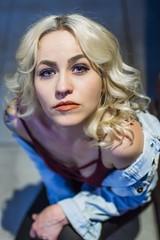 Samantha (micadew) Tags: micadew interesting interestingfaces interestingmicadew intenseeyes blue blueeyes portrait portraits beautiful beauty blondes blondehair gorgeous