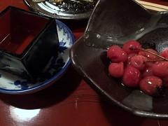 Salted Chelly from Yamagata Nagaya Sakaba in Yamagata (Fuyuhiko) Tags: 山形長屋酒場 salted chelly from yamagata nagaya sakaba 山形 山形市 yamgata prefecture pref
