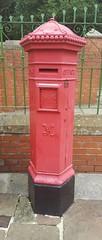 PENFOLD PILLAR BOX @ CRICH (robert_2760) Tags: penfold pillarbox crichtramwaymuseum