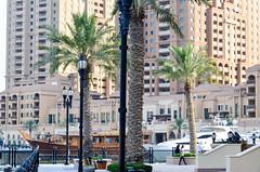 Marina, The Pearl-Qatar (jbdodane) Tags: thepearl thepearlqatar doha marina middleeast qatar