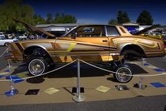 Show it (swong95765) Tags: car show lowrider chrome display jacked beauty art rebuilt design custom customized