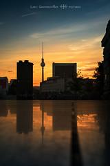 =] BERLIN | reflexion [= (oolcgoo) Tags: berlin germany deutschland europe europa haupstadt sony slt sal1650 ssm sunrise sun sonne sonnenaufgang wolken clouds alpha amount apsc adobe a77mii architecture architektur