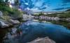 L'Orb et le pont de Réals, Murviel les Béziers (cristgal56) Tags: hérault languedocroussilon pont rivière reflet coucherdesoleil