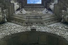 """Reto Desde abajo. """"Ventana celestial"""" (Hctor MM) Tags: nadir contrapicado catedral oaxaca mexico barroco arquitectura nikor nikon hctormndez"""