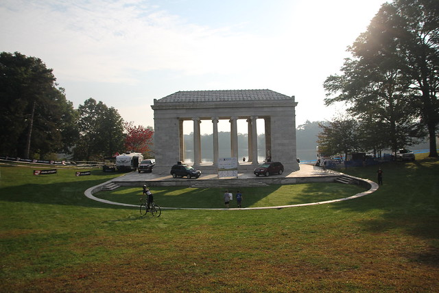 Roger Williams Park provided a scenic backdrop for the weekend's racing.