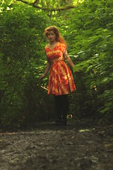 day 187 - down the rabbit hole (lions + tigers + bears oh my) Tags: lighting uk trees light shadow portrait orange woman selfportrait rabbit green eye art english me girl face leaves forest self mouth dark hair myself nose photography eyes orkney eyelashes dress hole mud year young ground tunnel lips foliage story teen photograph teenager lip 365 concept conceptual bushes eyebrows aliceinwonderland teenage art 365days orkadian fine yesmyhairisawfulwhatofit