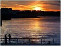 ATARDECER PLATA (GIJN) (Sigurd66) Tags: sunset espaa atardecer spain tramonto asturias espagne cimadevilla gijon ocaso xixon asturies cantabrico costaverde cimavilla principadodeasturias costacantabrica principautredesasturies