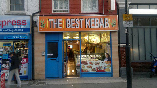 )THE(BEST KEBAB)