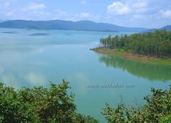 Supa Dam Reservoir ($udhakar) Tags: blue green nature water landscape pentax scenic wideangle reservoir karnataka hpc westernghats supa bluishgreen supadam justpentax wwwsudhakarcom smcpda1645mmf40edal pentaxk5 supadamreservoir