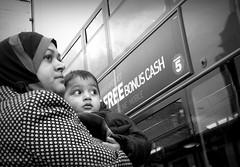 Free bonus cash (Laura G.Rob) Tags: uk portrait blackandwhite london pentax candid streetphotography documentary