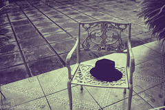 (hanami_) Tags: hat chair loneliness