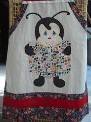 Avental completo/com bolso (Pintura em tecido. Panos de prato.) Tags: avental