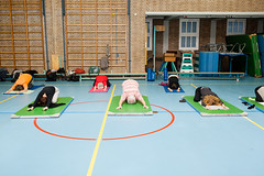 (Peter de Krom) Tags: color group gym nrc pilates