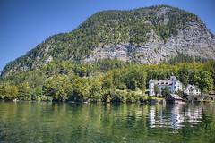 The Lakehouse (murphyz) Tags: travel house mountain lake photography austria hallstatt murphyz