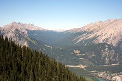 View from the Top (jclegill) Tags: viewfromthetop banffnationalpark projectweather