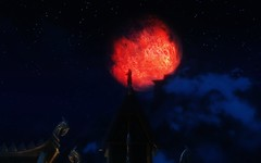 Red Moon (modd3r86) Tags: mod mask graphic magic fantasy skyrim whiterun