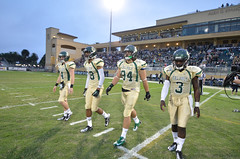 Cal Poly Football versus Portland State (mustang daily) Tags: california college sports football athletics centralcoast sanluisobispo calpoly mustangs portlandstatevikings